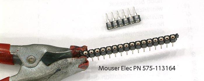 Strip connector