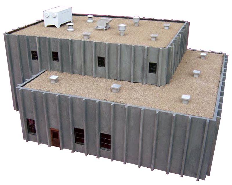 "Review: Double ""T"" Tilt-up Building by Pecos River Brass"