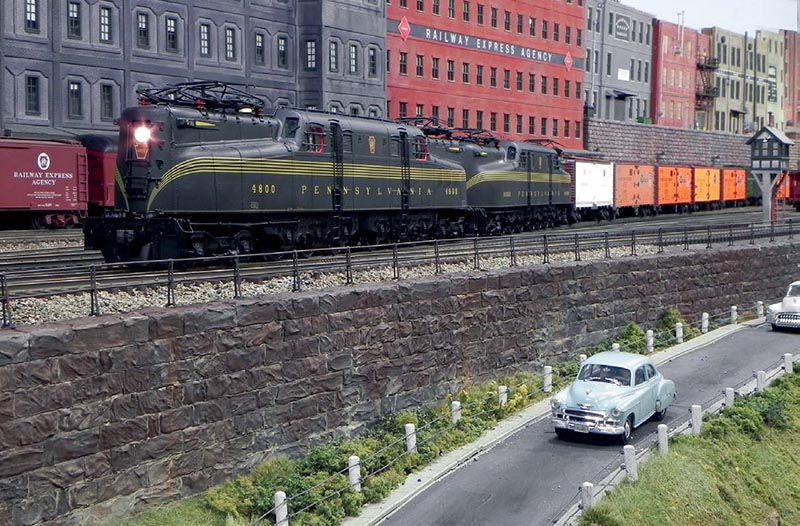 The Nassau Division of the Pennsylvania Railroad